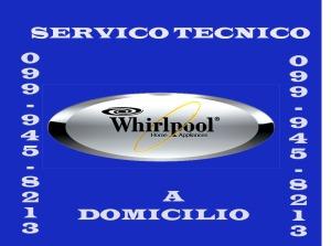 Servicio tecnico whirlpool a domicilio en Quito