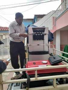 maquina de helados de Transporte en Riobamba